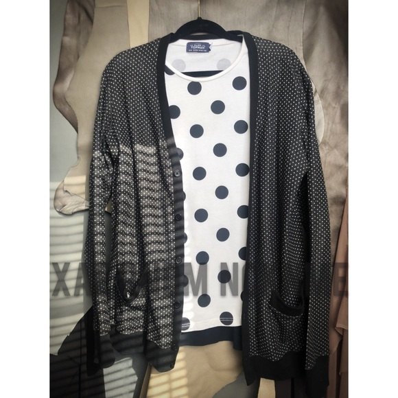 Urban Outfitters Sweaters Bdg Mens Polka Dot Sweater Poshmark